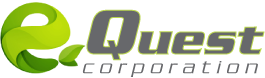 e quest logo top